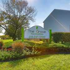 Rental info for The Grove in the Catonsville area