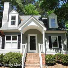 Rental info for 4709 Worchester Place