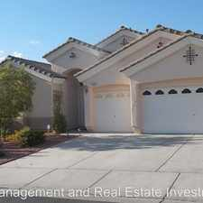 Rental info for 2140 Paganini Ave. in the Sun City Anthem area