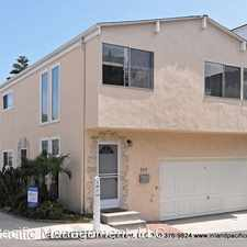 Rental info for 205 Highland Avenue, Upper in the 90266 area