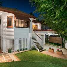 Rental info for CONTEMPORARY HOME IN DESIRABLE LOCATION in the Brisbane area