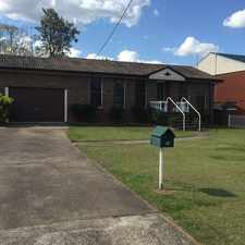 Rental info for Well Presented Home in Downtown Location in the Singleton area