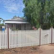 Rental info for KALGOORLIE in the Kalgoorlie - Boulder area