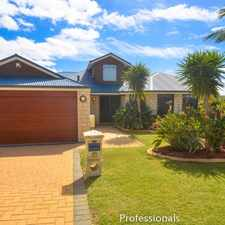 Rental info for ESTUARY VIEWS!!! SIDE ACCESS PLUS WORKSHOP in the Perth area