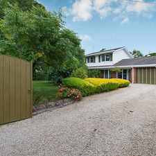 Rental info for UNDER APPLICATION - Lush and Private Peninsula lifestyle in the Melbourne area