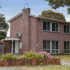Rental info for TWO STORY HOME - AVAILABLE NOW ! in the Frankston North area
