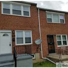 Rental info for 3 bd. Bth... 708 Montpelier St in the Better Waverly area