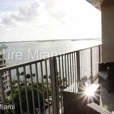 Rental info for 1450 Brickell Bay Drive