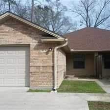 Rental info for ***Luxury 2 BR 2 BA Townhouse*** in the Lufkin area