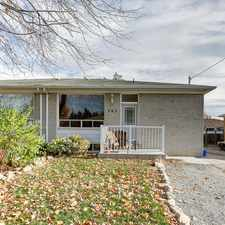 Rental info for 343 Dovedale Drive #BSMT in the Oshawa area