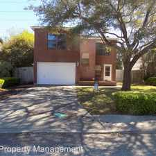 Rental info for 4822 Purlane in the San Antonio area