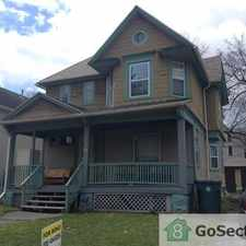 Rental info for refinished hardwoods+ many updates- upstairs of duplex on corner lot- $300 off 1st months rent in the 19th Ward area