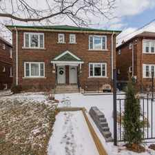 Rental info for 23 Preston Place #A in the Lawrence Park North area