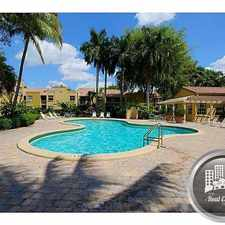 Rental info for 40 Street NW 97 Ave in the Doral area