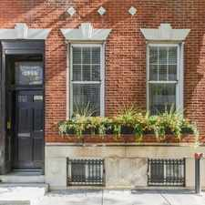 Rental info for $2950 0 bedroom House in Center City Rittenhouse Square in the Philadelphia area