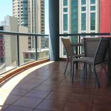 Rental info for EXECUTIVE FURNISHED 2 BED, 2 BATH CBD UNIT