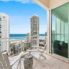 Rental info for 5 STAR LIVING, MAGNIFICENT WATER VIEWS- ONE BEDROOM FULLY FURNISHED in the Gold Coast area