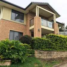 Rental info for Executive style home high on the hill in the Brisbane area