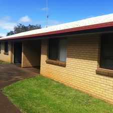 Rental info for AFFORDABLE AND CONVENIENT! in the Toowoomba area