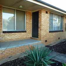 Rental info for Conveniently located unit in the Wagga Wagga area
