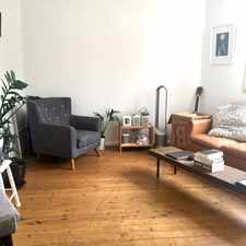 Rental info for LARGE LIGHT FILLED APARTMENT IN POPULAR LOCATION