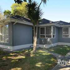 Rental info for 4 Bedroom Family Home! in the Melbourne area