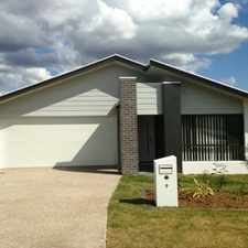 Rental info for COME SEE THIS BEAUTIFUL NEW HOME IN A FABULOUS PART OF REDBANK PLAINS
