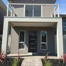 Rental info for Great near new 2 bedroom townhouse. Available now! in the Morphett Vale area