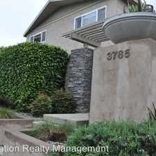 Rental info for 3785 Pershing Ave - 4 in the 92104 area