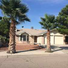 Rental info for 11740 McAuliffe in the El Paso area