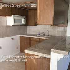 Rental info for 2400 Seneca Street in the Pasadena area