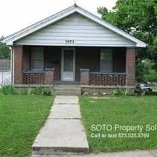 Rental info for 1453 Luce St. in the 63703 area