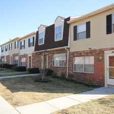 Rental info for Southwood Townhomes in the Cherry Hill area