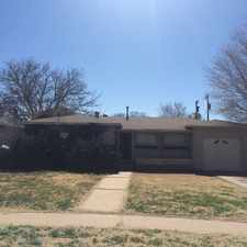 Rental info for 3815 30th Street in the Lubbock area
