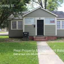 Rental info for 3148 Wyoming St. in the Baton Rouge area