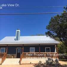 Rental info for 1246 Lake View Dr. in the Canyon Lake area