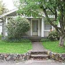 Rental info for 2323 Agate St.
