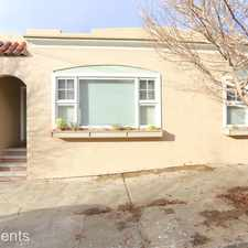 Rental info for 366 Montcalm Street in the Bernal Heights area