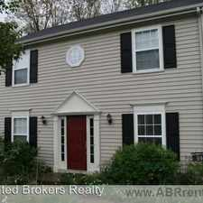 Rental info for 846 Harris Road in the Charlottesville area