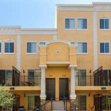 Rental info for $4500 2 bedroom Townhouse in Tempe Area in the Tempe area