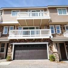 Rental info for $4695 4 bedroom Townhouse in Northern San Diego Carlsbad