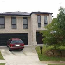 Rental info for Neatly presented two storey home in Upper Coomera!