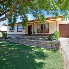 Rental info for BEAUTIFULLY PRESENTED HOME WITH VIEWS in the Modbury area