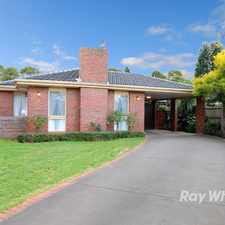 Rental info for Simply Stunning in the Rowville area