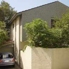 Rental info for QUIET AND LEAFY 3 BEDROOM TOWNHOUSE