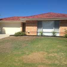 Rental info for Lovely Home! in the Perth area