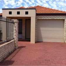 Rental info for YANGEBUP FRONT STRATA HOME - AIRCONDITIONED - ONLY $375 WEEKLY in the Beeliar area