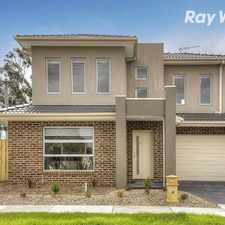 Rental info for NEAR NEW AND IN UNBEATABLE LOCATION! in the Melbourne area
