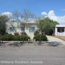 Rental info for 2027 E. 1st St., Unit 1 in the Tucson area