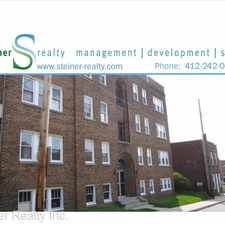 Rental info for 1426 Hillsdale Avenue in the Pittsburgh area
